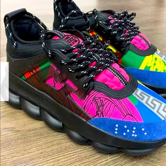 Versace Chain Reaction Shoes Designer